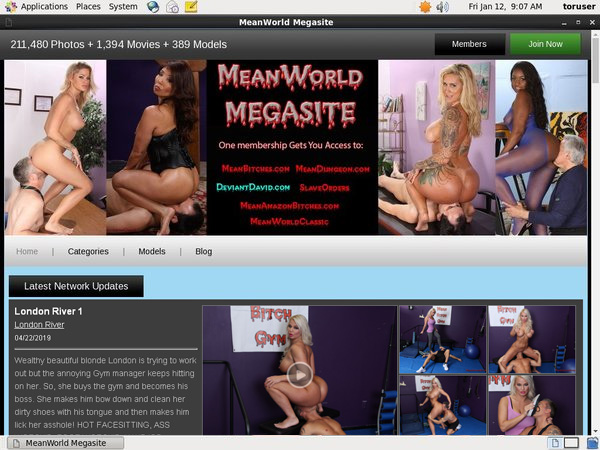 $1 Meanworld.com Trial Membership