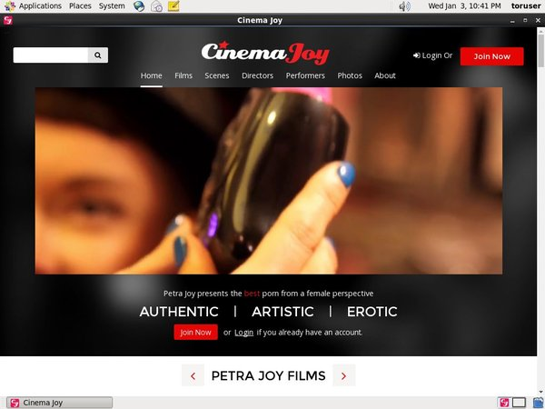 Cinemajoy.com Account Generator 2016